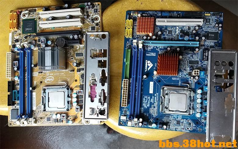 交易交换G41电脑主板 U两块 Discuz图片