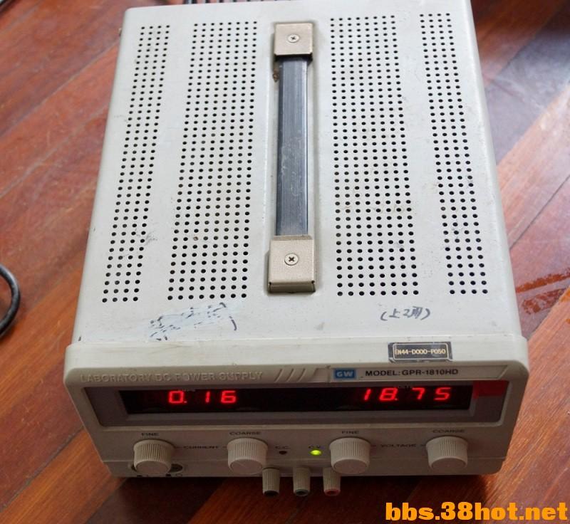 交易交换固纬 GPR 1810HD 线性直流电源 单路输出 18V 10A Discuz图片